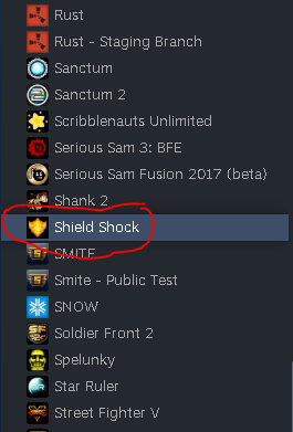 Shield Shock in Library
